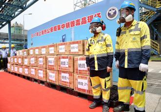 上海市公安局集中销毁各类毒品785.3公斤