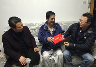 中国禁毒基金会开展走访慰问活动