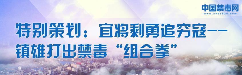 """特别策划:宜将剩勇追穷寇——镇雄打出禁毒""""组合拳"""""""