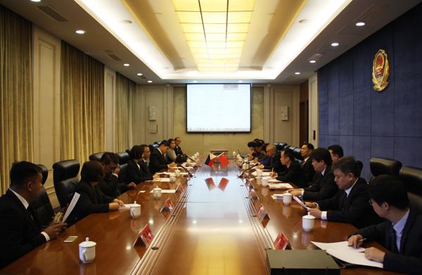 中菲禁毒合作工作会谈在京举行